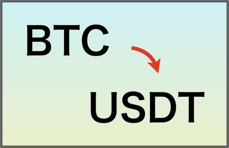 BTCでUSDTを購入する方法